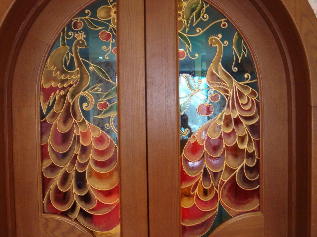 Двери из стекла своими руками