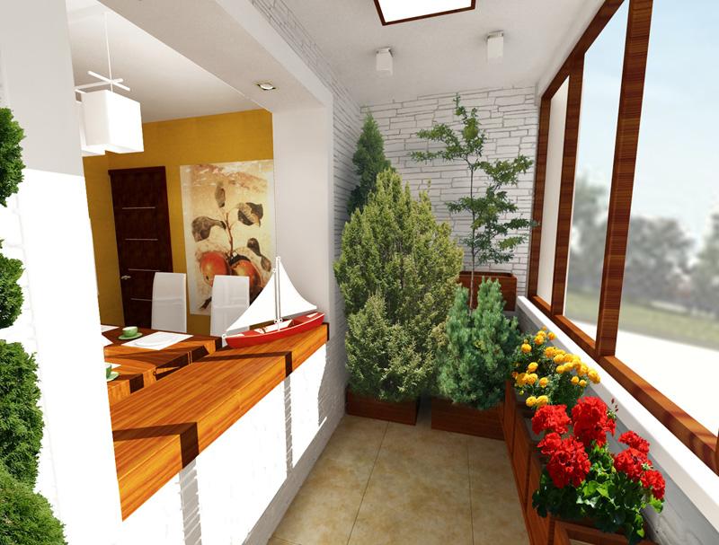 Ремонт балкона и лоджии. дизайн балкона и лоджии фото. вариа.