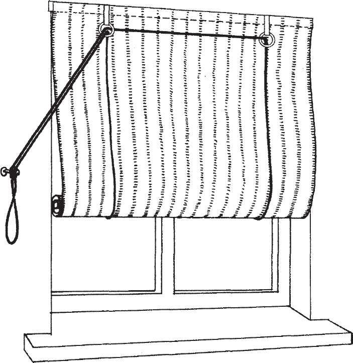Как самому сделать рулонную штору своими руками