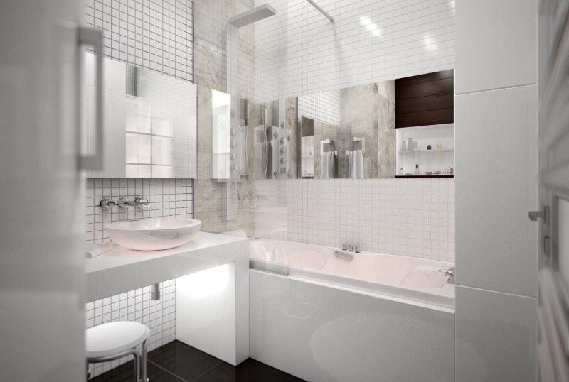Дизайн интерьера квартиры в новостройке интерьер ванной