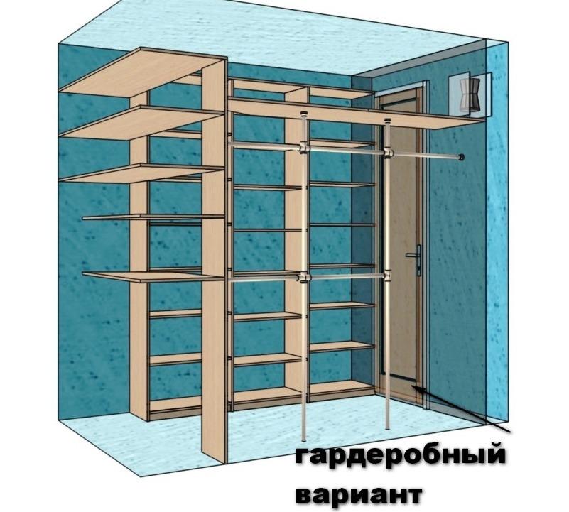 Kak-iz-kladovki-sdelat-garderobnuyu-----sovetyi-masterov 3