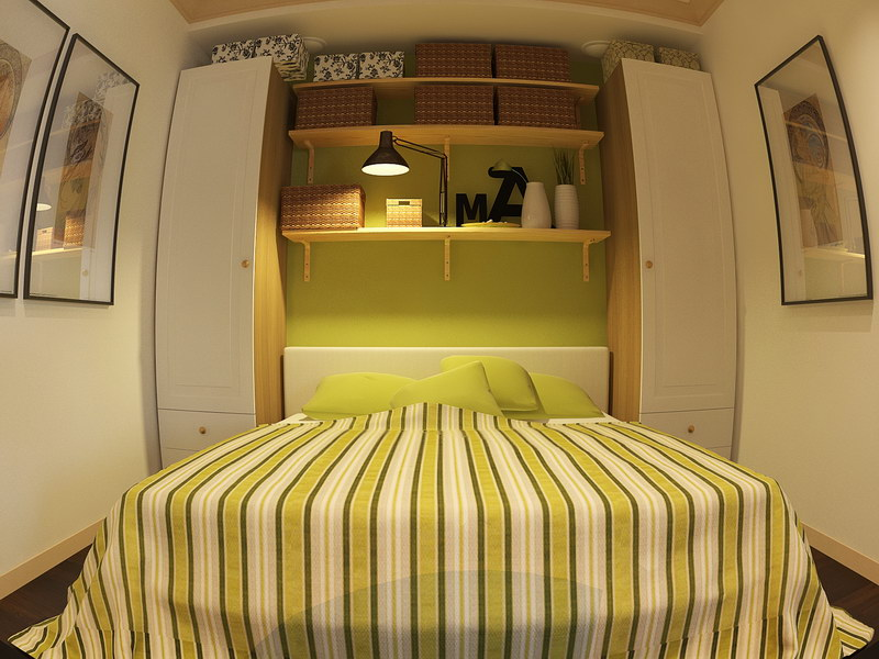 Дизайн спальня хрущевка