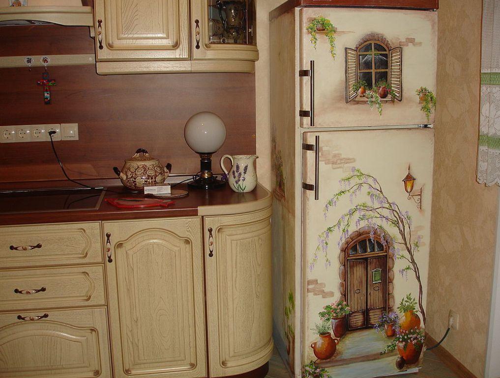 Украсить холодильник своими руками фото