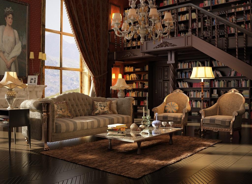 Viktorianskiy-stil-v-interere-----roskosh-na-grani-e`kstaza 11