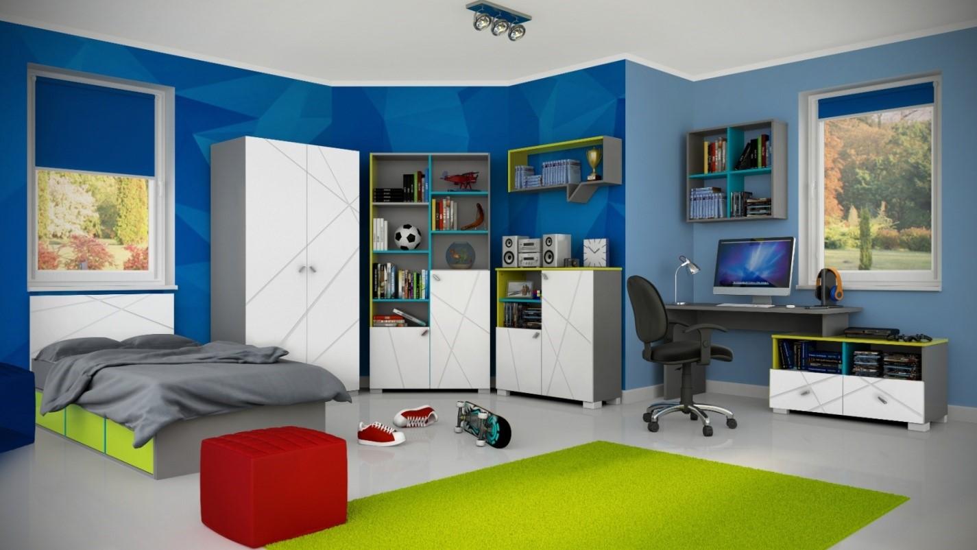 детская мебель для мальчика Х Грин, Фабрики Meblik