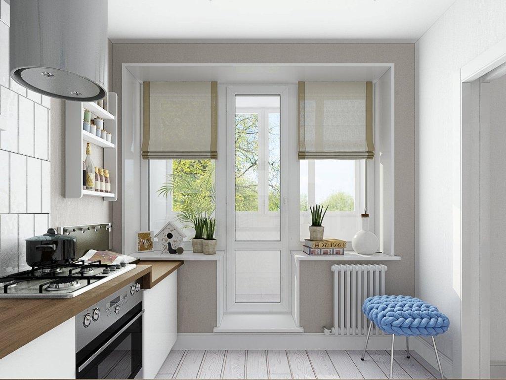 Дизайн маленькой кухни 6.1 кв.м.