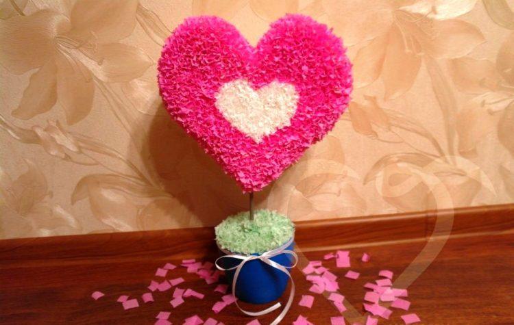 Подарки ко дню св. валентина своими руками
