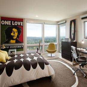 Дизайн спальни – фото 831