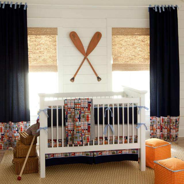 детские комнаты в морском стиле фото 9