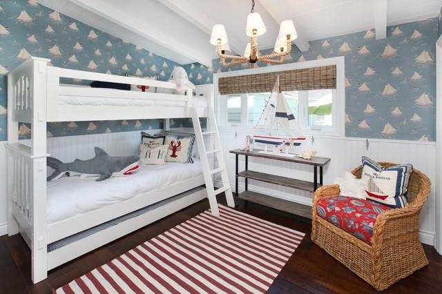 детские комнаты в морском стиле фото 8