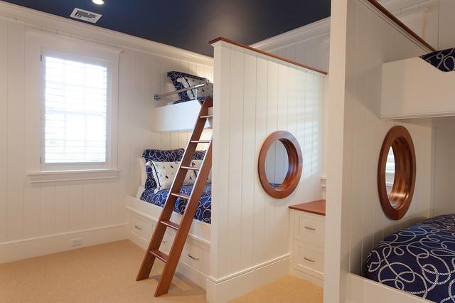 детские комнаты в морском стиле фото 7