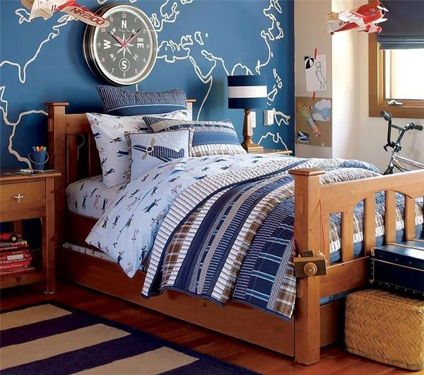 детские комнаты в морском стиле фото 5