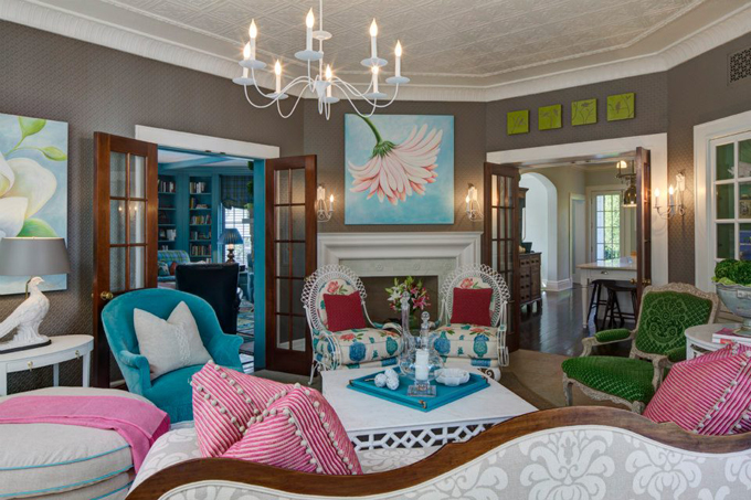 Дизайн гостиной комнаты – фото примеры (1)