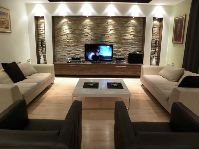 Дизайн гостиной комнаты – фото примеры (17)
