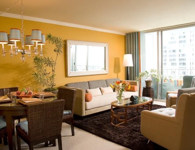 Дизайн гостиной комнаты – фото примеры (18)