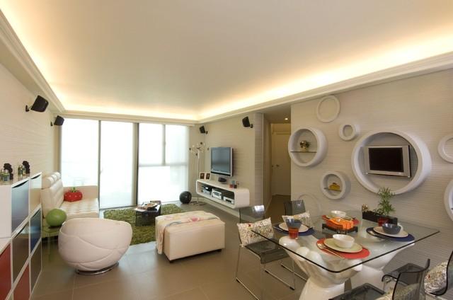 Дизайн гостиной комнаты – фото примеры (33)