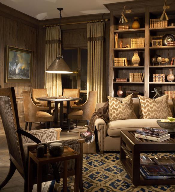 Дизайн гостиной комнаты – фото примеры (34)