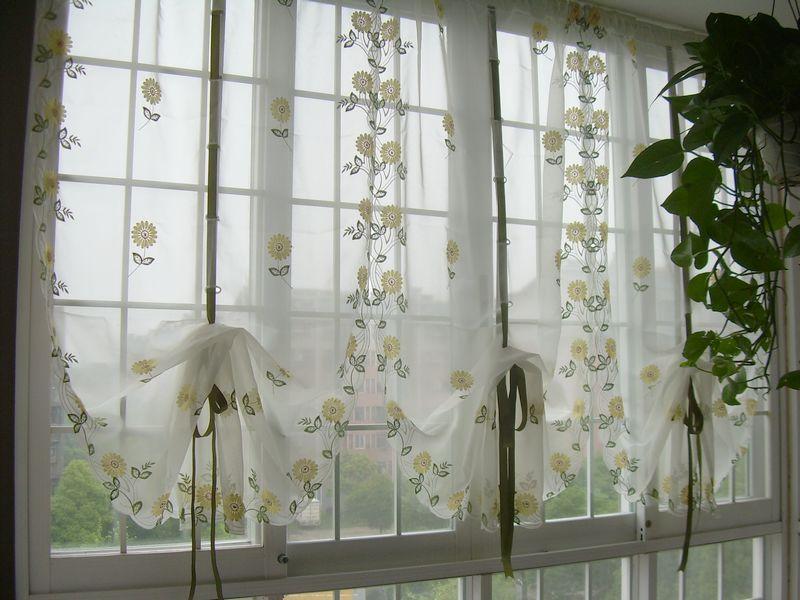 шторы для кухни австрийские-4