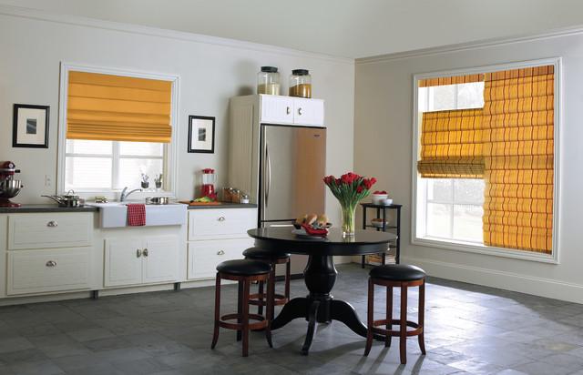 шторы для кухни – римские (2)
