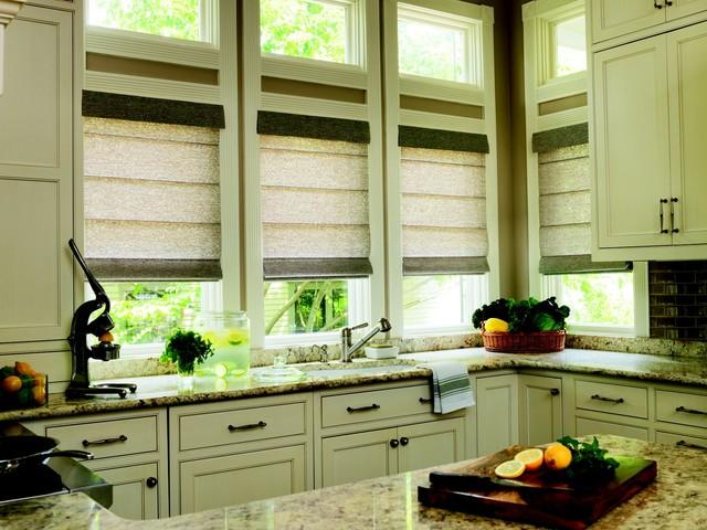 шторы для кухни – римские (4)