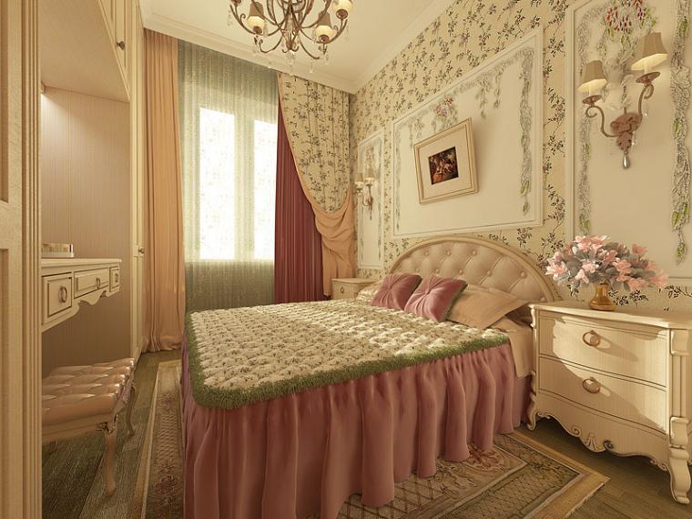 нестандартная спальня