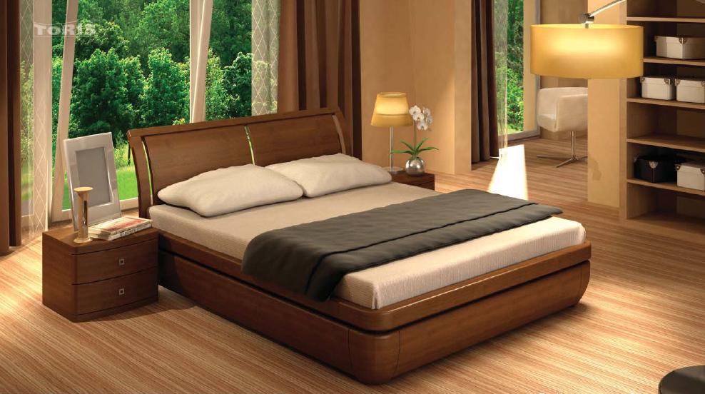 Деревянные кровати из массива