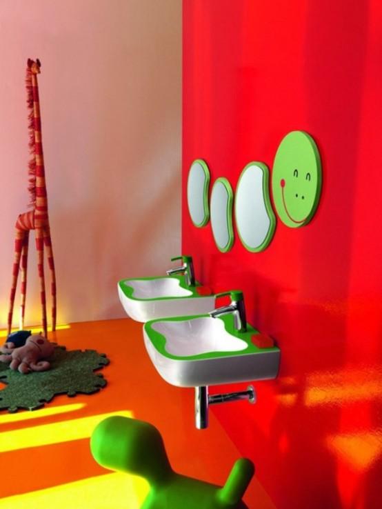 Сантехника для детской комнаты фото