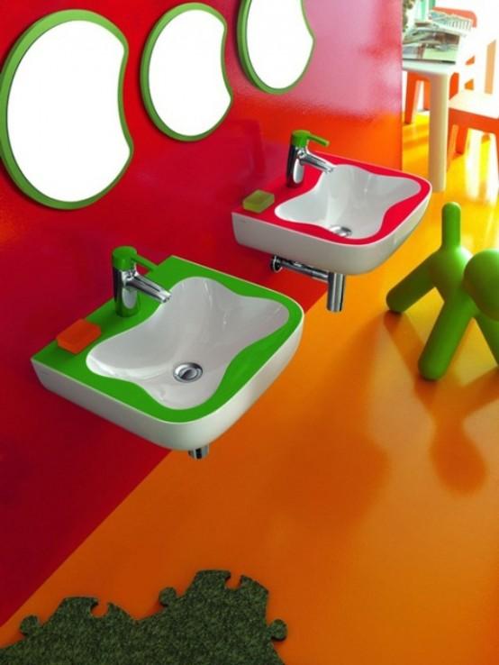 Сантехника для детской комнаты