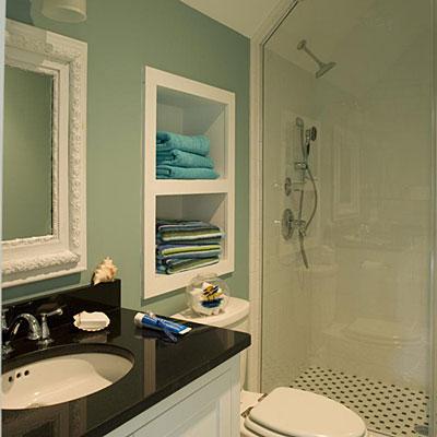 решения для детской ванной комнаты 13