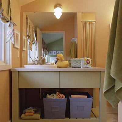 решения для детской ванной комнаты 9