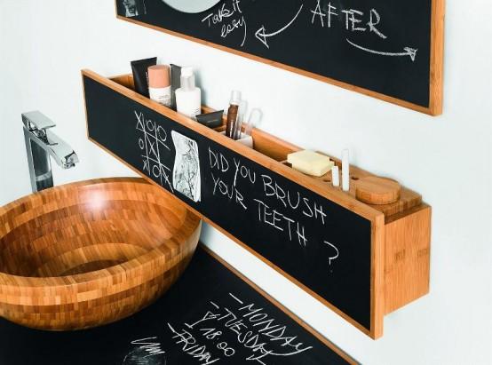 Необычная мебель для ванной