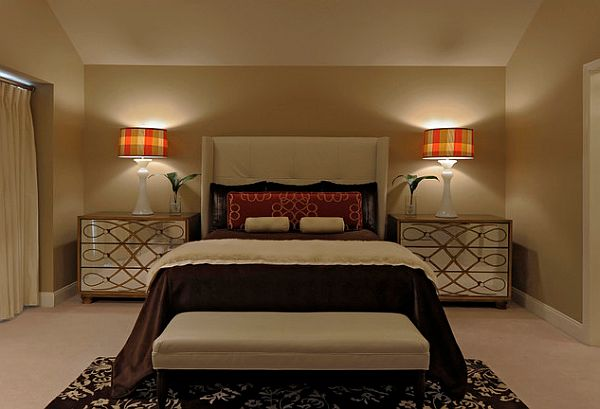 декор большой спальни
