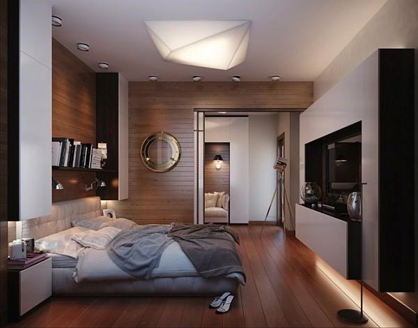 Офис в спальне фото 2