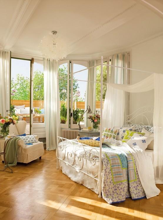 фото  романтической спальни