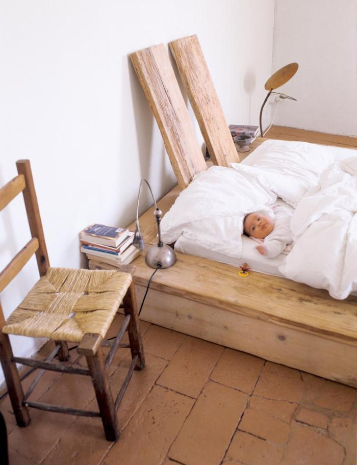 кровать в японском стиле фото 1