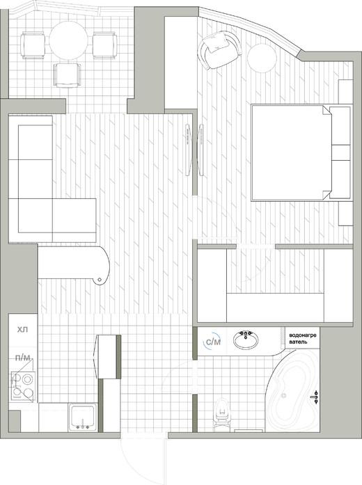 план квартиры в стиле ампир