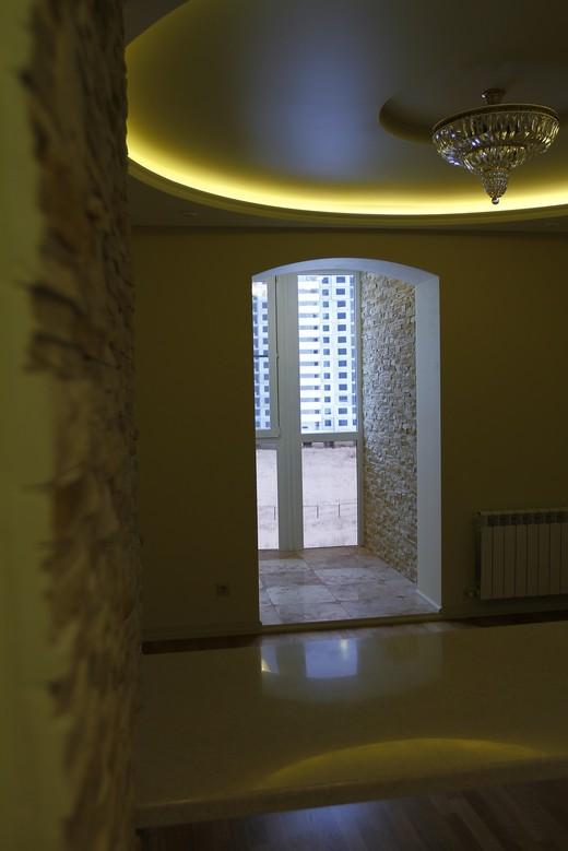 подсветка потолка в двухкомнатной квартире