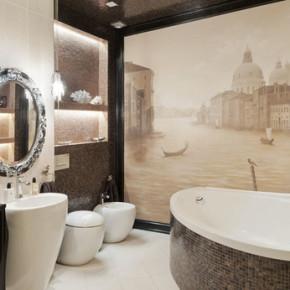 Дизайн ванной комнаты – фото 376