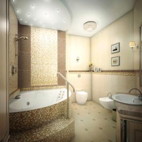 Перепланировка ванной – фото 366