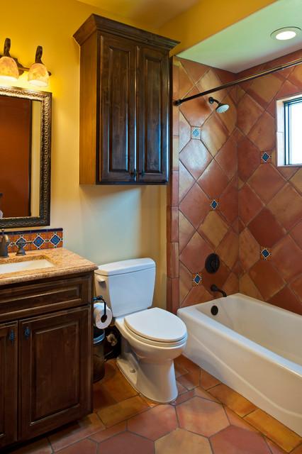 коричневая ванная фото 16