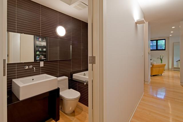 коричневая ванная фото 5