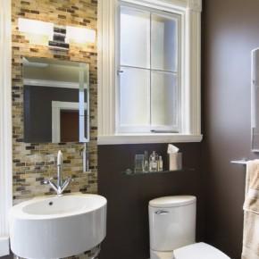 Ремонт ванной комнаты – фото 68