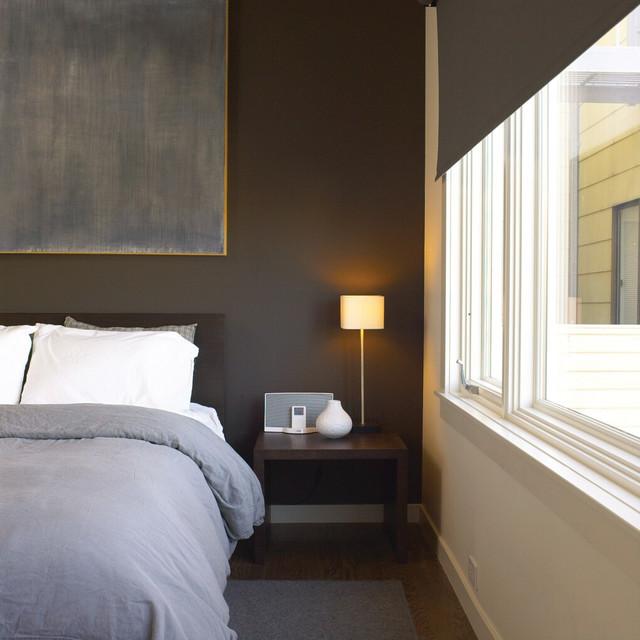 коричневая спальня фото 13