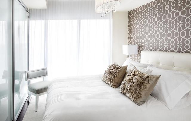 коричневая спальня фото 9
