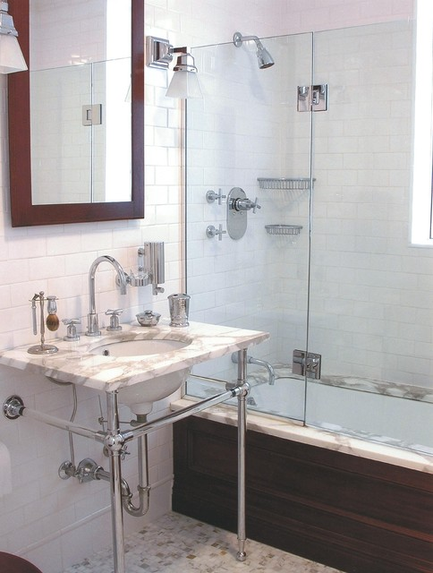 коричневая ванная фото 14