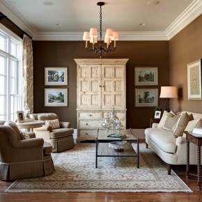 Дизайн гостиной комнаты – фото 65