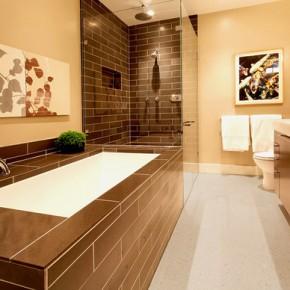 Оформление ванной – фото 52