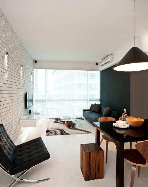 коричневая гостиная фото 2