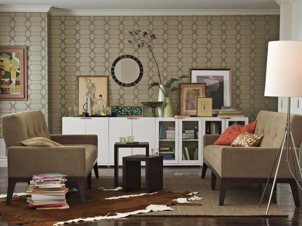 коричневая комната