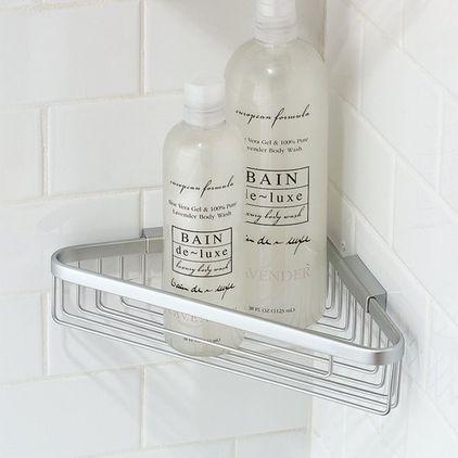 аксессуары для ванной - угловые полочки